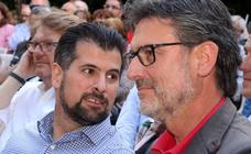 Luis Tudanca arropa a los candidatos del PSOE en Segovia