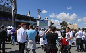 El Salamanca CF mantiene su intención de organizar la Fan Zone tras la reunión en la Subdelegación