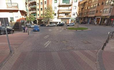 Herida una mujer al ser atropellada por una furgoneta en un paso de peatones en Segovia