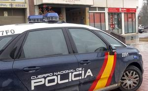 Detenido un conductor que se fugó tras un atropello en la calle Los Robles de Palencia