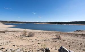 Las reservas de agua para abastecer Ávila capital no llegan al 60%