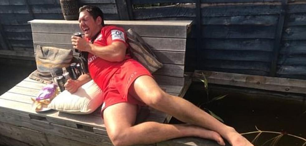 Alex Goode, mejor jugador de rugby de Europa, celebra el título con una juerga de 72 horas