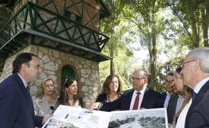 El PP presume de gestión en Palencia y vende el proyecto de los Jardinillos
