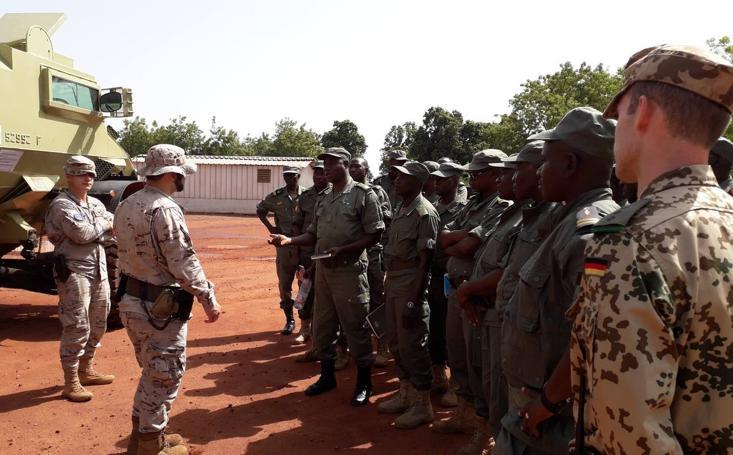 Militares de Farnesio, con sede en Santovenia, cumplen seis meses en Malí