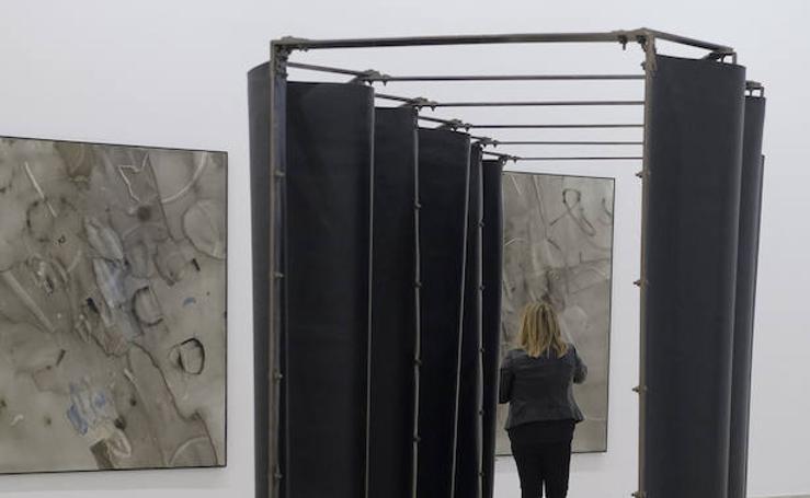 Exposición de José Díaz y Ángeles Marco en el Patio Herreriano de Valladolid