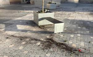 Fin de fiesta vandálico en Cogeces