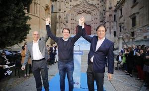 Mañueco: «El pacto secreto de Cs y PSOE no está firmado, pero es un hecho»
