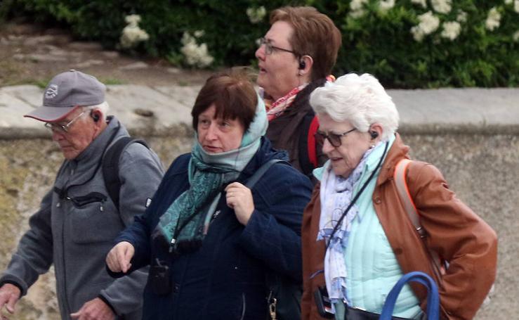 Jornada desapacible en Segovia