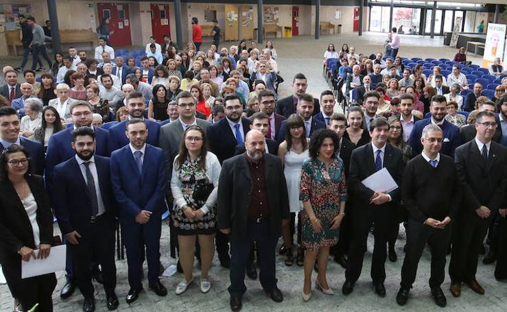 Graduación de los alumnos de la Escuela de Informática en el campus de la UVA