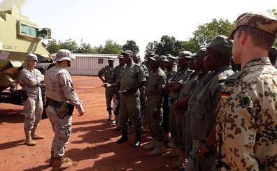 Koulikoro, en Malí, recupera sus instalaciones para dar el relevo a la unidad de Canarias