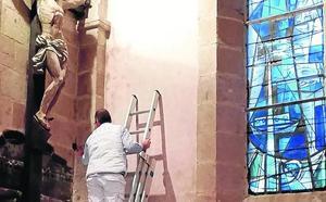 La Fundación Santa María la Real lleva a Francia los sensores de mejora del patrimonio