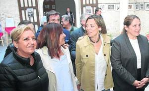 «Gracias al PP, por primera vez la PAC ha hablado español», ensalza Milagros Marcos en Cuéllar