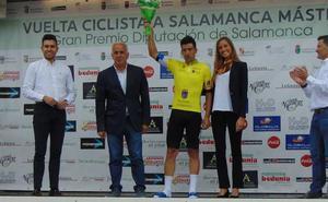 Juan Carlos Fernández, primer líder de la Vuelta a Salamanca Máster