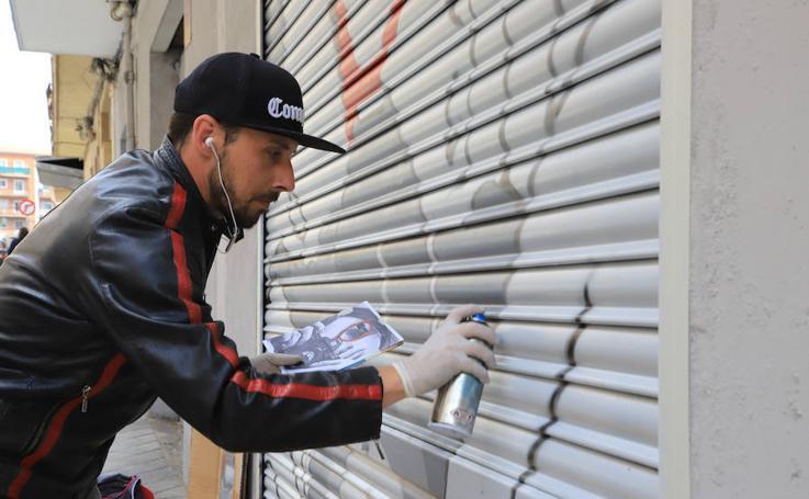 El Arte Urbano toma de nuevo el Barrio del Oeste