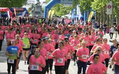La III Carrera y Marcha de las Mujeres recorre el casco histórico de Valladolid