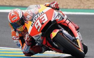 Márquez busca consolidar su liderato en Le Mans