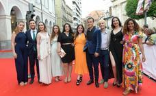 Alfombra roja de los Premios Max en Valladolid