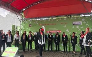 El coro Melibea a Capella de Salamanca recibe el premio del público en el Festival 'Spring a Capella' en Moscú