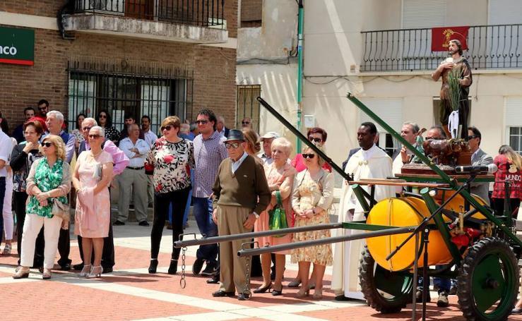 Villaviudas celebra San Isidro