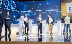 Sigue aquí el segundo debate de los candidatos a la Presidencia de la Junta de Castilla y León