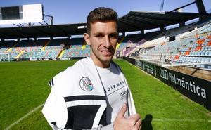 Víctor Mena se despide del Salamanca CF sin cerrar las puertas a un posible regreso