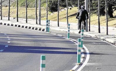 El PSOE de Valladolid propone ampliar la red de carriles bici en La Victoria, Huerta del Rey y Girón