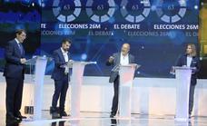 Segundo debate electoral entre los candidatos a la Presidencia de la Junta de Castilla y León