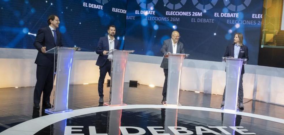 Encuesta: ¿Quién cree que ha ganado el segundo debate entre los candidatos a presidir la Junta de Castilla y León?