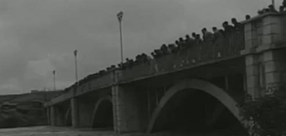Valladolid en el No-Do: los destrozos de la gran riada de 1962 en Valladolid y Rioseco