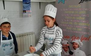 Juego y cocina, a examen este viernes en la final de Super Chef Junior de Palencia