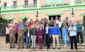Veinte alumnos completan el segundo taller de empleo Daoiz de albañilería y pintura