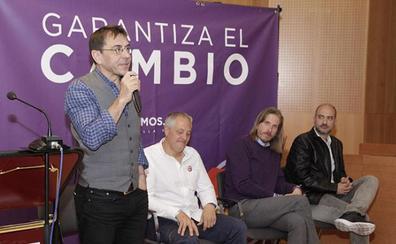 Monedero afirma en Laguna que Podemos representa la lucha contra la resignación