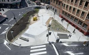 La plaza de Luis Braille se abrirá este miércoles al paso de coches y peatones