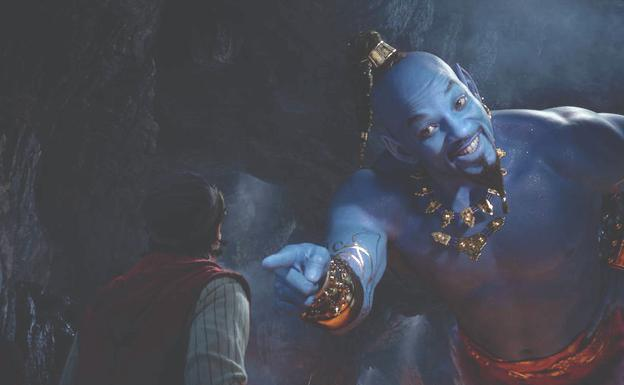 Will Smith en 'Aladdin'.