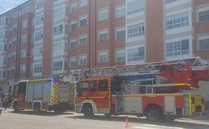 Un fuerte olor a quemado en un edificio de Laguna pone en alerta a los Bomberos de Valladolid