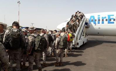 Regresan los primeros 124 militares de Malí tras seis meses adiestrando al ejército de ese país