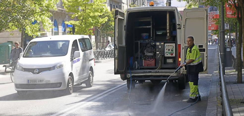 Herido un hombre de 79 años al ser atropellado en la calle Miguel Íscar de Valladolid