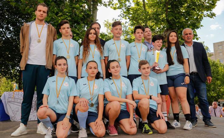 Gala de entrega de premios de los Juegos Escolares de Salamanca (2/2)
