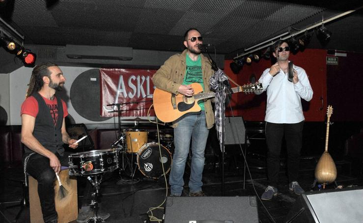 Concierto de Al Carmona Trio en la sala Asklepios de Valladolid