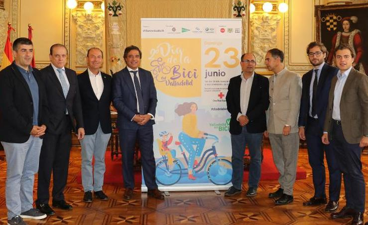 Presentación del Día de la Bici en Valladolid