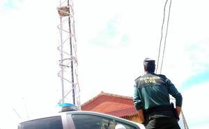 Desarticulado en Palencia un grupo criminal al que se le imputan 194 robos en repetidores de telefonía