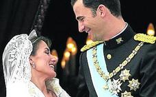 Los Reyes celebran su 15 aniversario de boda