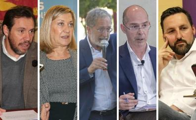 Los candidatos a la alcaldía del Ayuntamiento de Valladolid, en un minuto