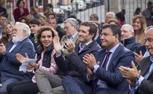 Pablo Casado, en Ávila: «¿Queremos que Sánchez tenga el respaldo de ayuntamientos y autonomías para que haga lo que le dé la gana?»