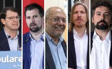 Los candidatos a la presidencia de la Junta de Castilla y León, en un minuto