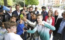 Pablo Casado despide 'con hambre' la campaña en Palencia