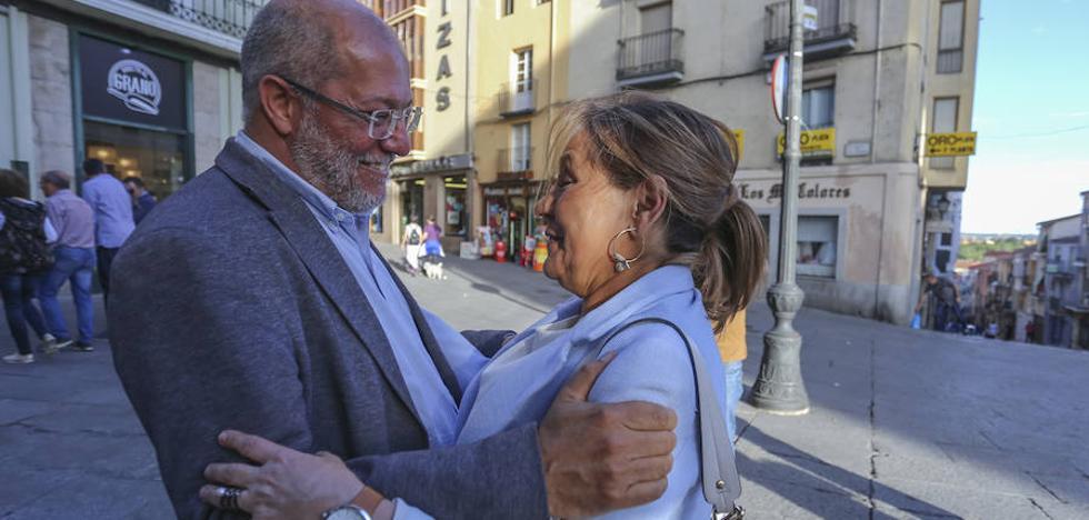 Rosa Valdeón responde a Herrera que tiene criterio propio para apoyar a Igea