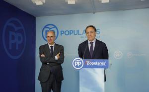 El PP critica la «ambigüedad» de Ciudadanos y asegura que el PSOE copia sus propuestas