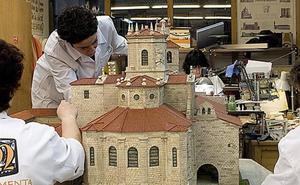 El arte también se disfruta en miniatura gracias a la Fundación Santa María la Real