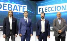 Así se han movido por Castilla y León los candidatos a presidirla